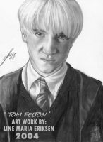 Portrait of Tom Felton by TheLupin