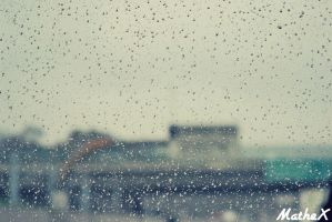 Rain drops by TLL-MatheX