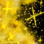 Golden Starscapes by 0013Starri