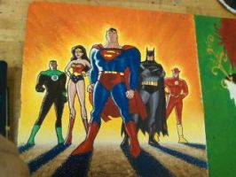 The Justice League by AlexandriaMonik