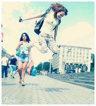 Jump. by by-gi
