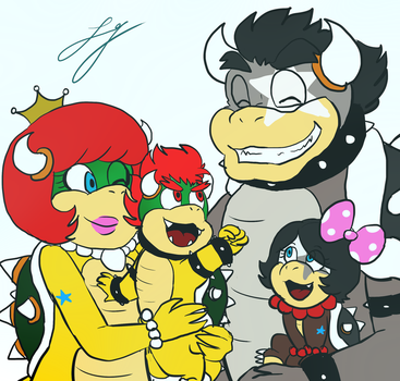 Family Koopa~ by Natsuko-the-Mun