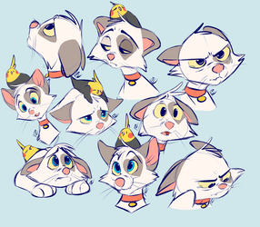 Expression Exercises by Pastel-Core