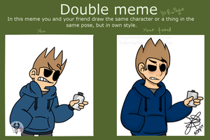 Double meme by Infinity-Drawings