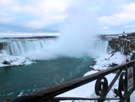 Winter Postcards from Niagara by Nariane