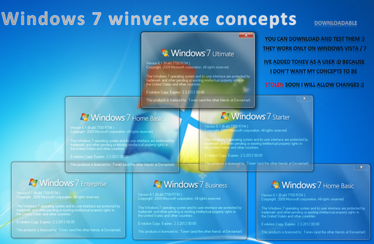 Winver.exe concepts 1 by tonev