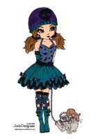 Gothic Lolita Colored by Maiko-Girl