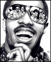 Stevie Wonder - I Just Called To Say I Love You by Doctor-Pencil
