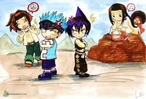 Shaman King Chibis by Alkanet