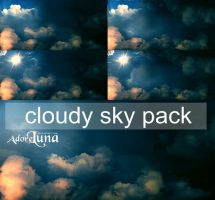 Cloudy Sky STOCK PACK by adoreluna