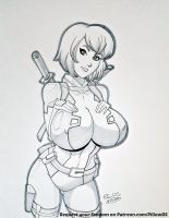 Gwenpool by pillowds
