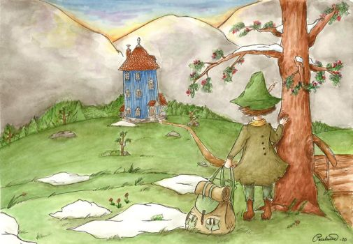 Spring came to Moominvalley by punpun-art