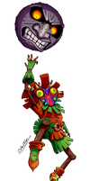 Majora's Mask by art-blaster