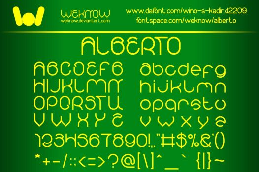 albertofont_byweknow by weknow