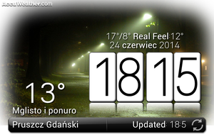Lg Based Real Screen Widget With Clock by Slavoo123