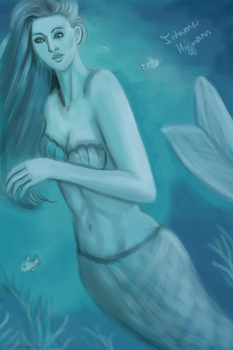 Mermaid (video link in description) by johannes111