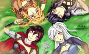 RWBY by Aihnzl