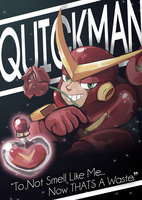 Quickman perfume ad by lightlabs