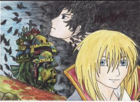 Howl's moving castle... by Churi