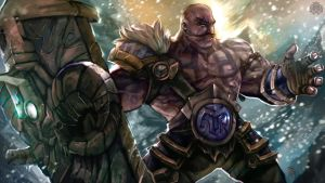 League of Legends Tribute - Braum by jorcerca