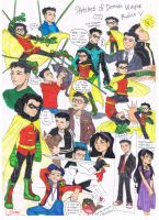 Damian Wayne, Robin The Fifth Color Version by AimiisLoveBeautiful