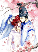 KHR:AsarixG:The cherryblossoms by meshuchan