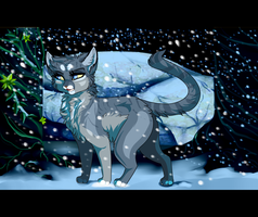 [ A winter's snow. A leader's determination. ] by Joker-Darling