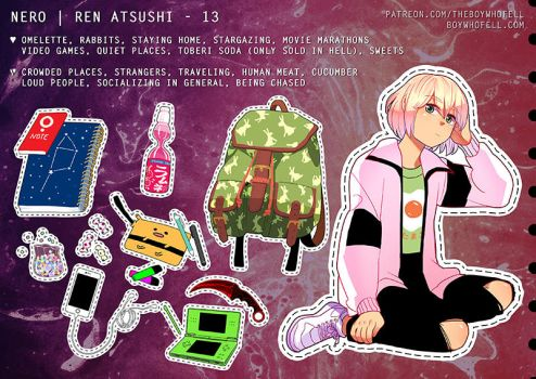 What's in your bag? - Ren by demitasse-lover