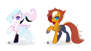 MLP POINT ADOPTABLES (closed) by Lumicorn