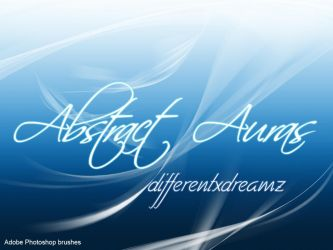 Abstract Aura Brushes by differentxdreamz