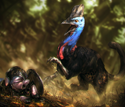 Grounds of the Flightless by AssasinMonkey