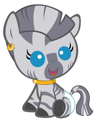 Baby Zecora Revamped by Beavernator