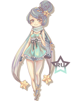 Semi Chibi - Chromatic Color by Rurucha