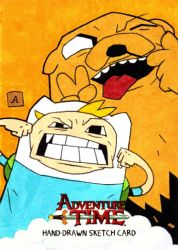 Finn and Jake by soliton