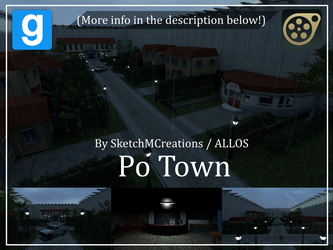 Map - Po Town by SecminourTheThird