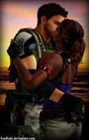 Chris and Sheva version 2 by SonRuki