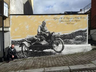 Wall painting from my city by AtomiccircuS