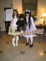 PMX 2010: Honey Picnic Twins by ChineseDragonKeeper