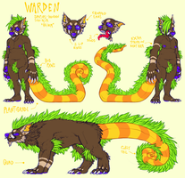 Warden reference by Zenophrenic