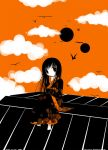 Enma Ai: black, white, orange by Ivy-Tears