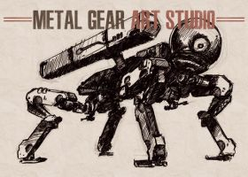 Metal Gear Art Studio - Peace Walker 1 by SolidAlexei