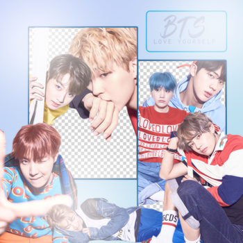 BTS LOVE YOURSELF VERSION V (PNG'S) by ALITTLEPUZZLE