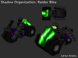 Shadow Organization: Raider Bike by DelphaDesign