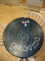 Dr Who kitchen table by Jeffica-Alice