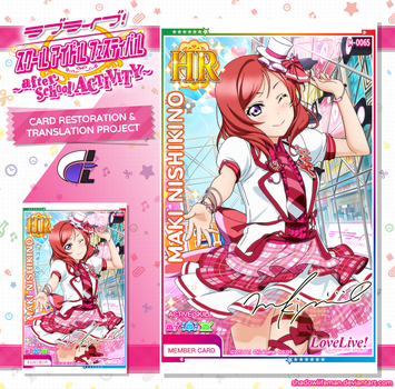Love Live After School Activity - Card Project by ShadowLifeman