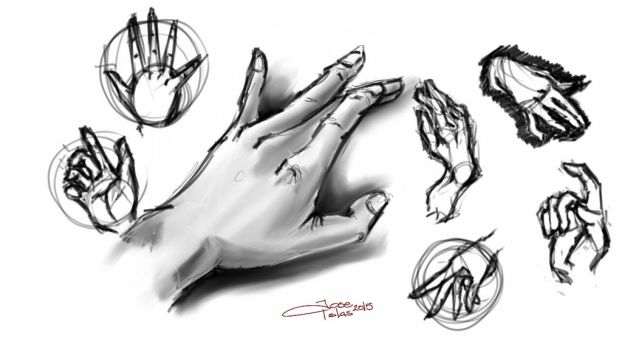 HANDS - SKETCH THIS by TopoGuren