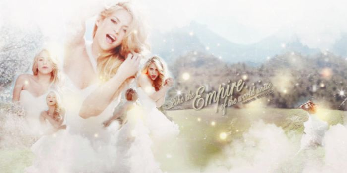 [Free Size] Shakira {MV 'Empire'} [White Ver] by pasyuks9b6