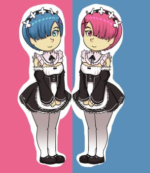 Rem and Ram by B-side7715