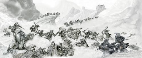 The Battle of Nadhas - commission by krukof2