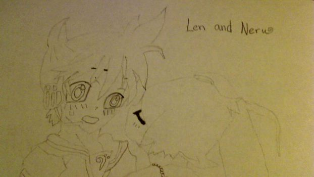 Len And Neru by goldchick1234